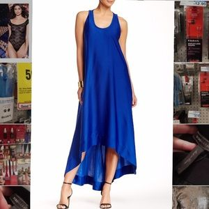 BCBGMAXAZRIA GIA SLEEVELESS evening dress blue 0